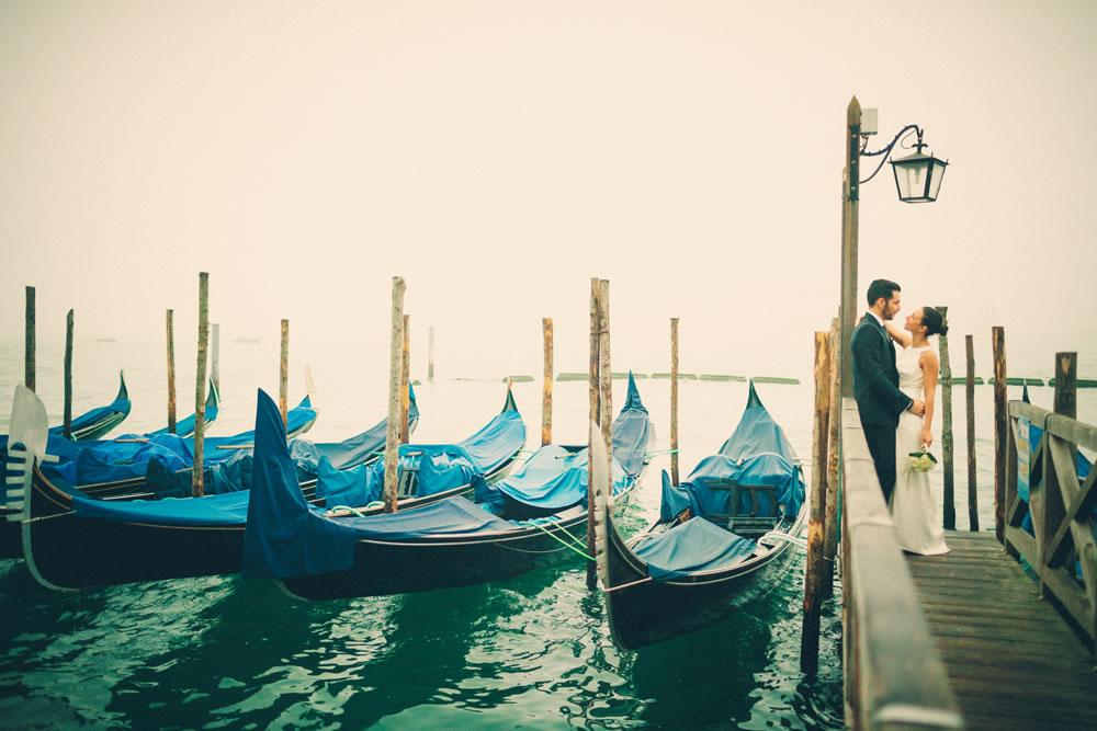 Eleonora e Michele sposi - Renato Zanette Fotografo Matrimonio Venezia