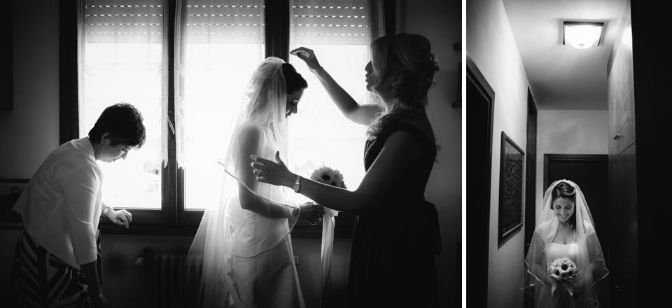 Irene e Paolo sposi-Wedding reportage-Renato Zanette Fotografo Matrimonio Treviso Veneto-Vittorio Veneto-La Sposa