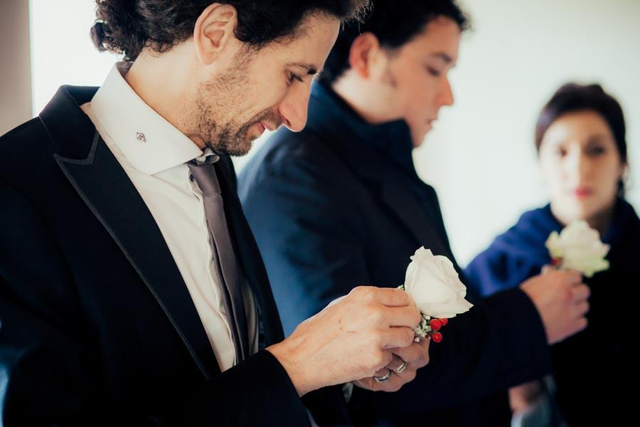 Silvia e Massimo sposi-Wedding reportage-Renato Zanette Fotografo Matrimonio Treviso-Revine Lago-Tarzo-i compari