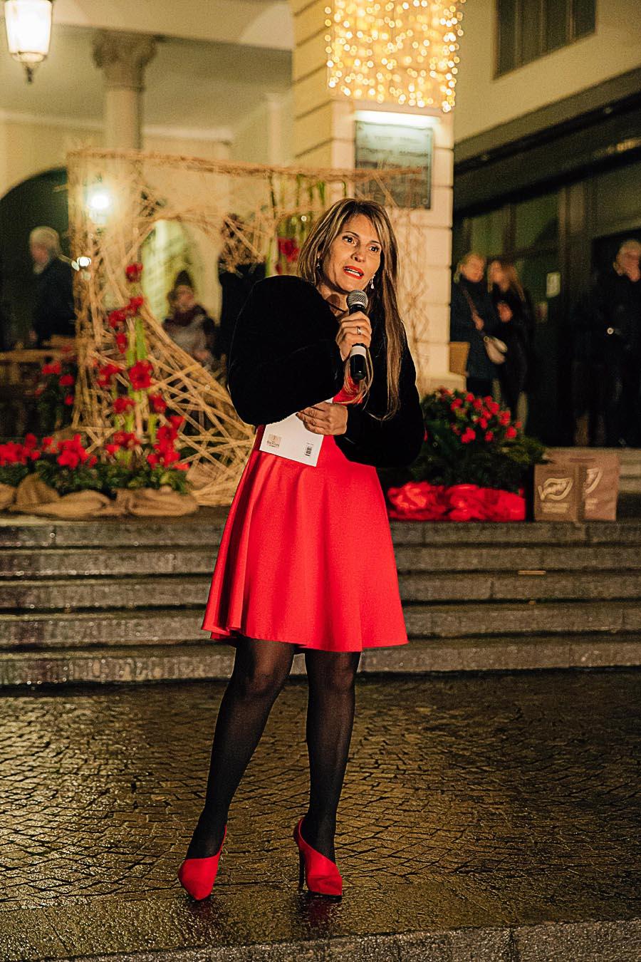 Renato Zanette fotografo per eventi storytelling Cipria Show no alla violenza sulle donne Carmen Borghese