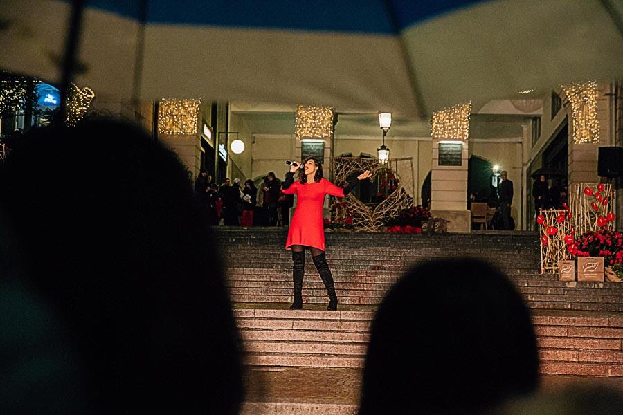 Renato Zanette fotografo per eventi storytelling Cipria Show no alla violenza sulle donne Roxanne
