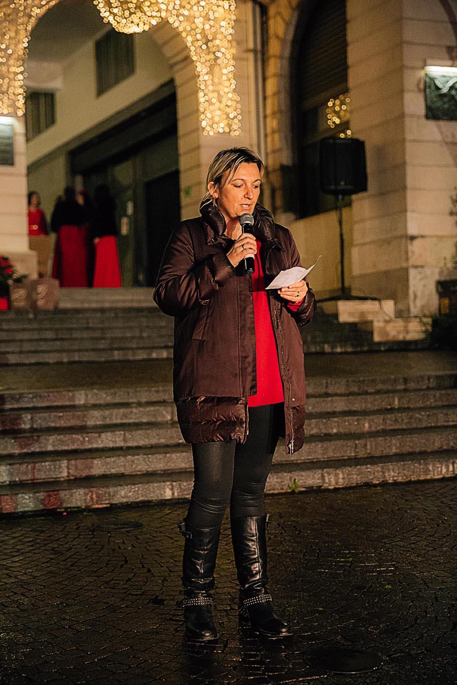 Renato Zanette fotografo per eventi storytelling Cipria Show no alla violenza sulle donne Stefania Bolognesi
