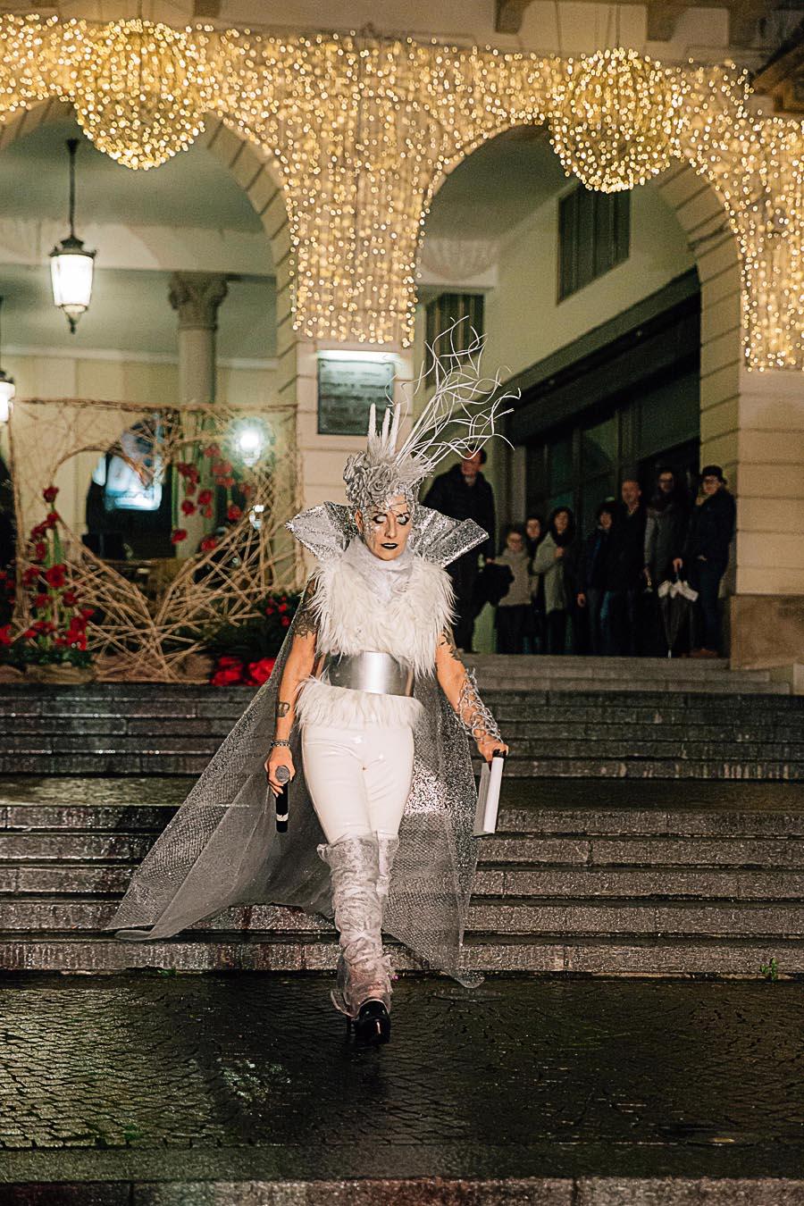 Renato Zanette fotografo per eventi storytelling Cipria Show no alla violenza sulle donne Marzia Breda