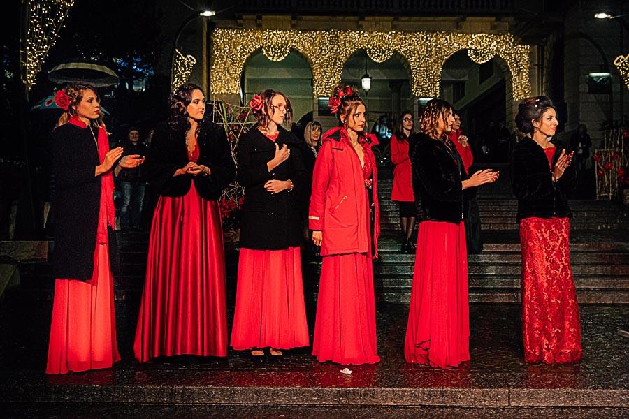 Renato Zanette fotografo per eventi storytelling Cipria Show no alla violenza sulle donne