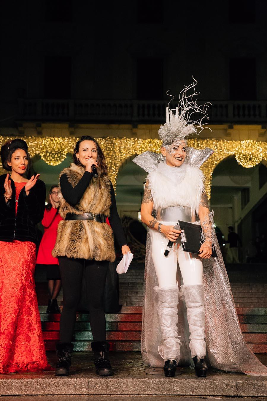 Renato Zanette fotografo per eventi storytelling Cipria Show no alla violenza sulle donne MArzia Breda Irene Guglielmi
