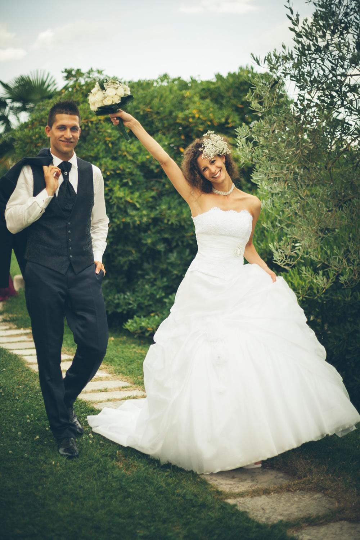 Elisa e Roberto sposi - Renato Zanette Fotografo Matrimonio Vittorio Veneto