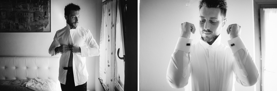 Irene e Paolo sposi-Wedding reportage-Renato Zanette Fotografo Matrimonio Treviso Veneto-Ceneda Vittorio Veneto-Lo sposo