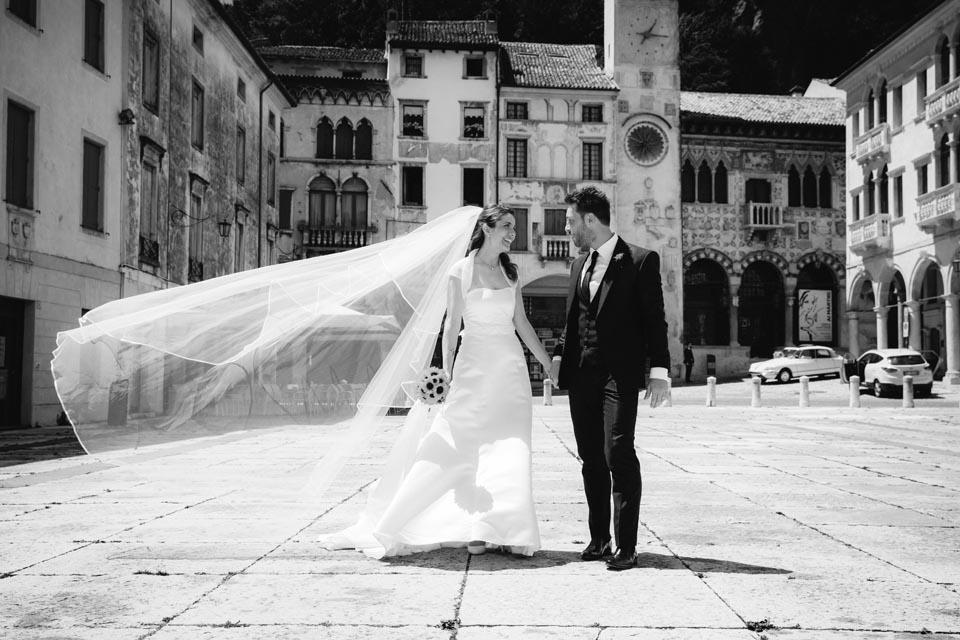 Irene e Paolo sposi-Wedding reportage-Renato Zanette Fotografo Matrimonio Treviso Veneto-Serravalle Piazza Flaminio