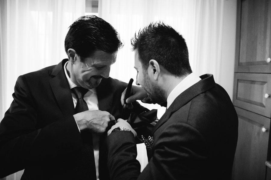 Elena e Matteo sposi-Wedding reportage-Renato Zanette Fotografo Matrimonio Treviso Veneto-Falzè di Piave-Papà e fratello