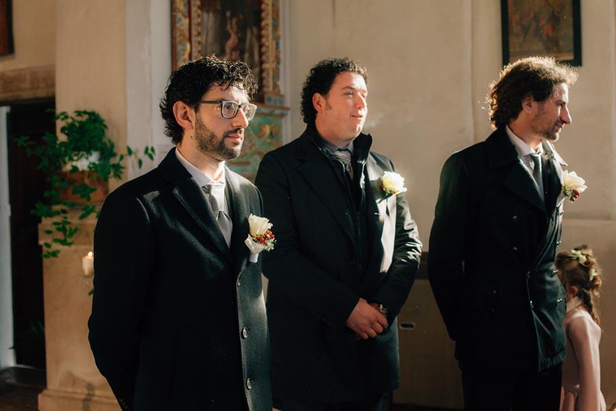 Silvia e Massimo sposi-Wedding reportage-Renato Zanette Fotografo Matrimonio Treviso-Revine Lago-Tarzo-sposo e compari